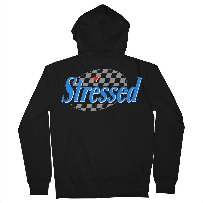 Stressed III Men's Zip-Up Hoody by Cody Weiler
