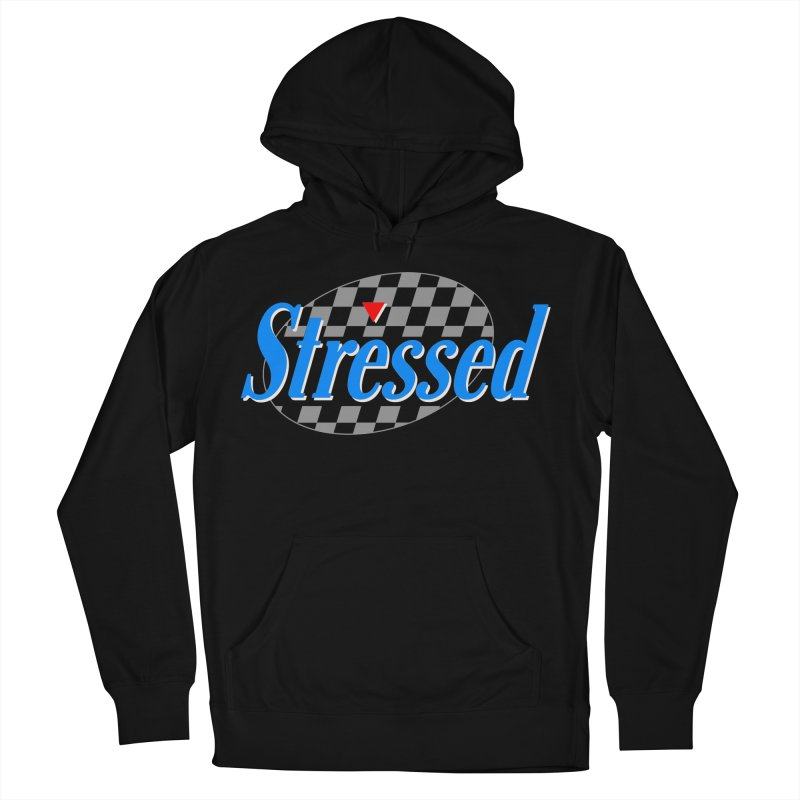 Stressed III Men's French Terry Pullover Hoody by Cody Weiler