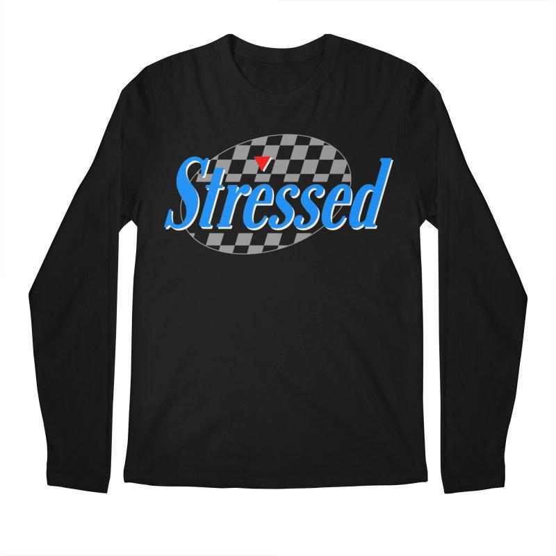 Stressed III Men's Regular Longsleeve T-Shirt by Cody Weiler