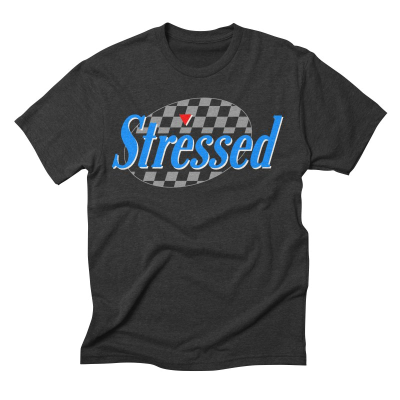 Stressed III Men's Triblend T-Shirt by Cody Weiler