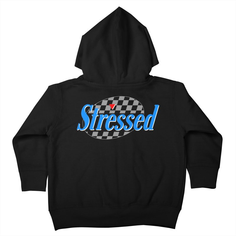 Stressed III Kids Toddler Zip-Up Hoody by Cody Weiler