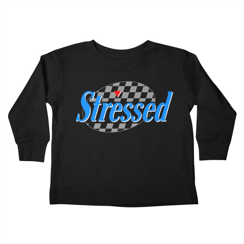 Stressed III Kids Toddler Longsleeve T-Shirt by Cody Weiler