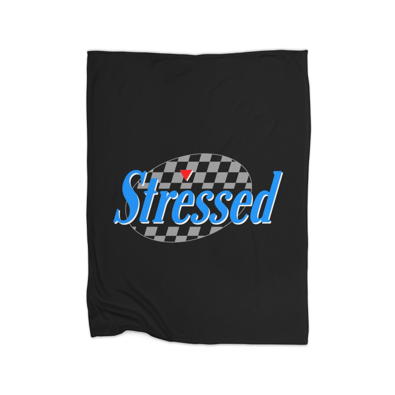 Stressed III Home Blanket by Cody Weiler