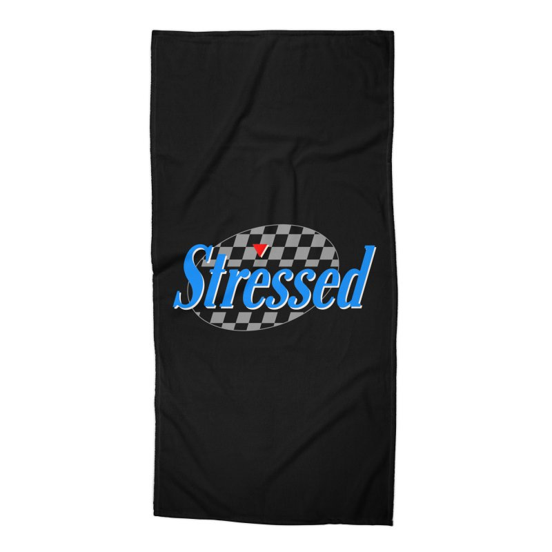 Stressed III Accessories Beach Towel by Cody Weiler