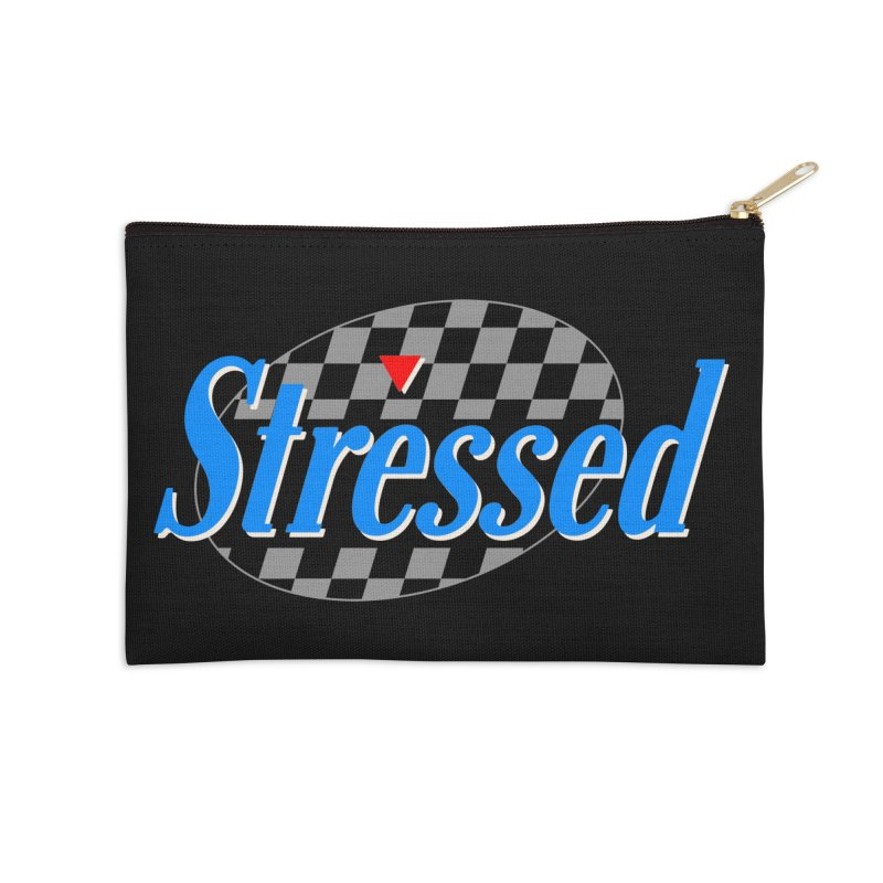Stressed III Accessories Zip Pouch by Cody Weiler
