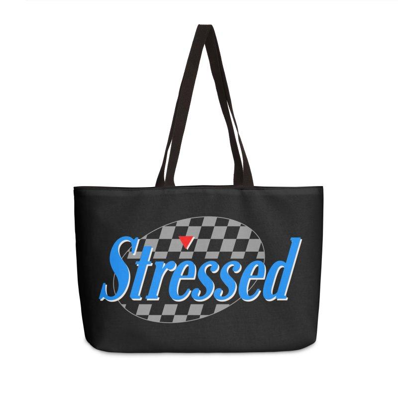 Stressed III Accessories Weekender Bag Bag by Cody Weiler