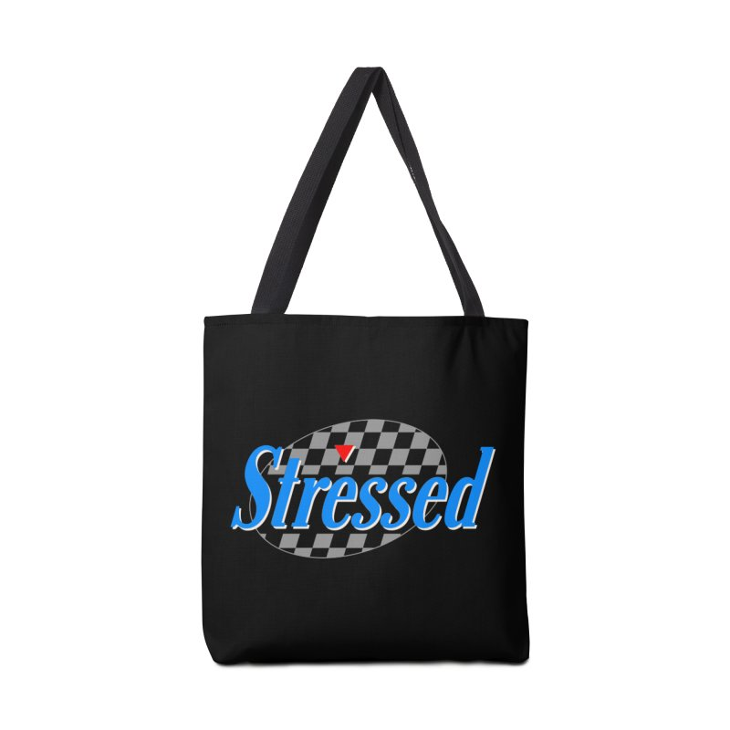 Stressed III Accessories Tote Bag Bag by Cody Weiler