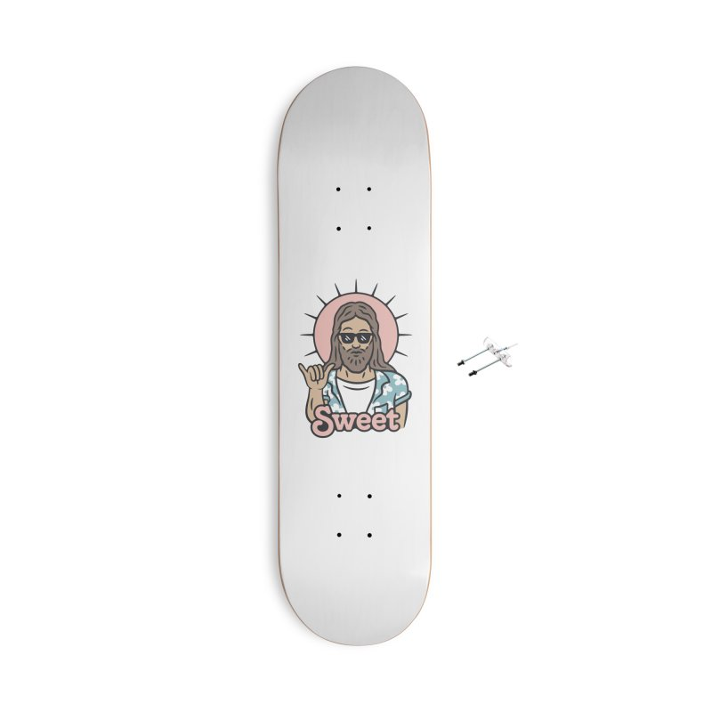 Sweet Jesus Accessories With Hanging Hardware Skateboard by Cody Weiler