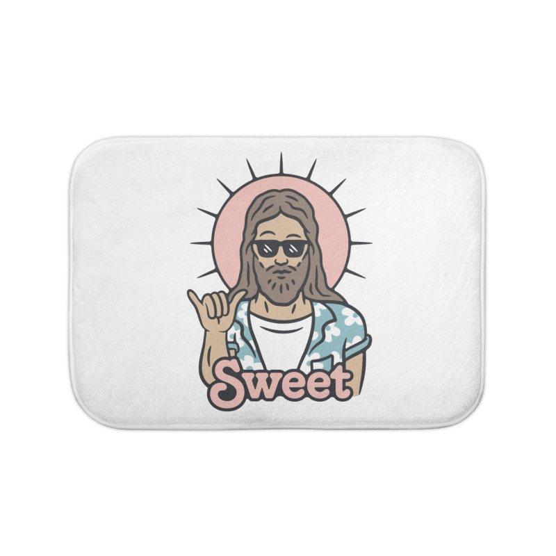 Sweet Jesus Home Bath Mat by Cody Weiler