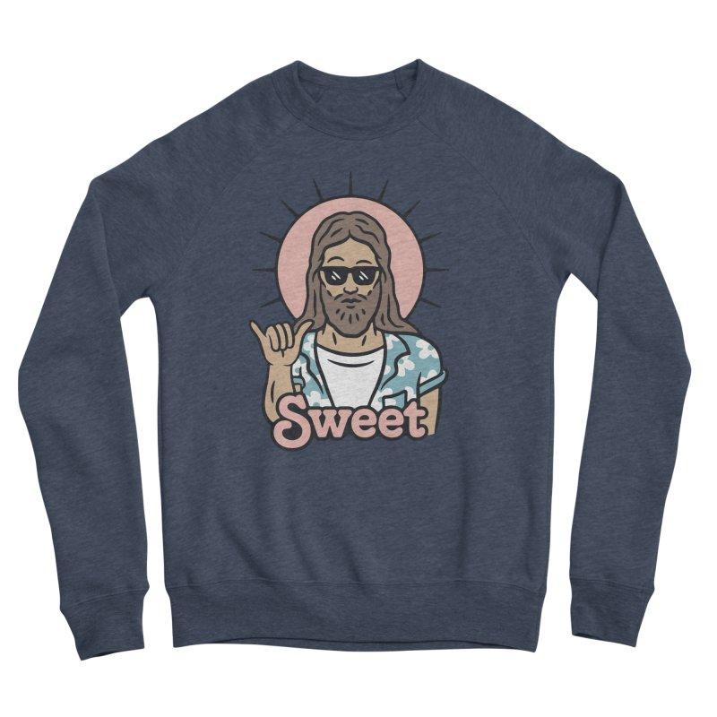 Sweet Jesus Men's Sponge Fleece Sweatshirt by Cody Weiler