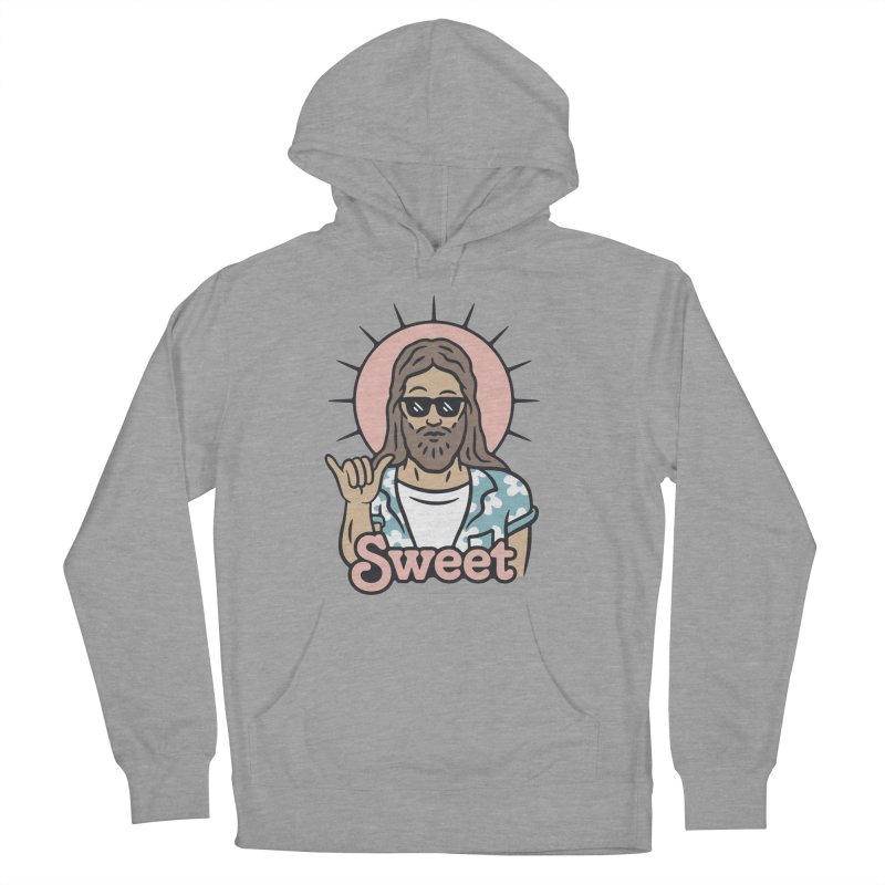 Sweet Jesus Women's French Terry Pullover Hoody by Cody Weiler