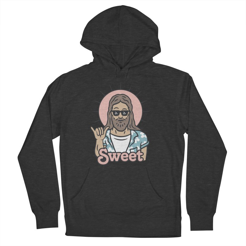 Sweet Jesus Men's French Terry Pullover Hoody by Cody Weiler