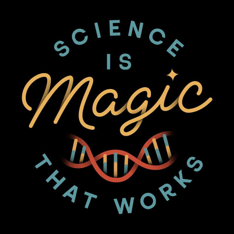 Science is Magic Accessories Sticker by Cody Weiler