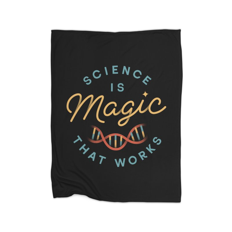 Science is Magic Home Blanket by Cody Weiler