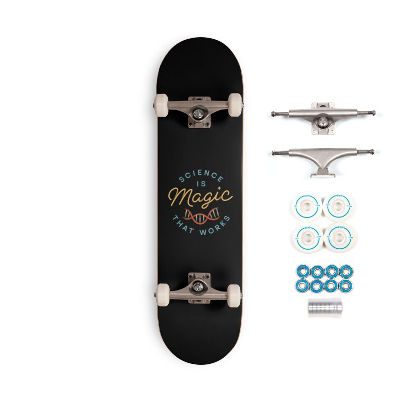 Science is Magic Accessories Complete - Basic Skateboard by Cody Weiler