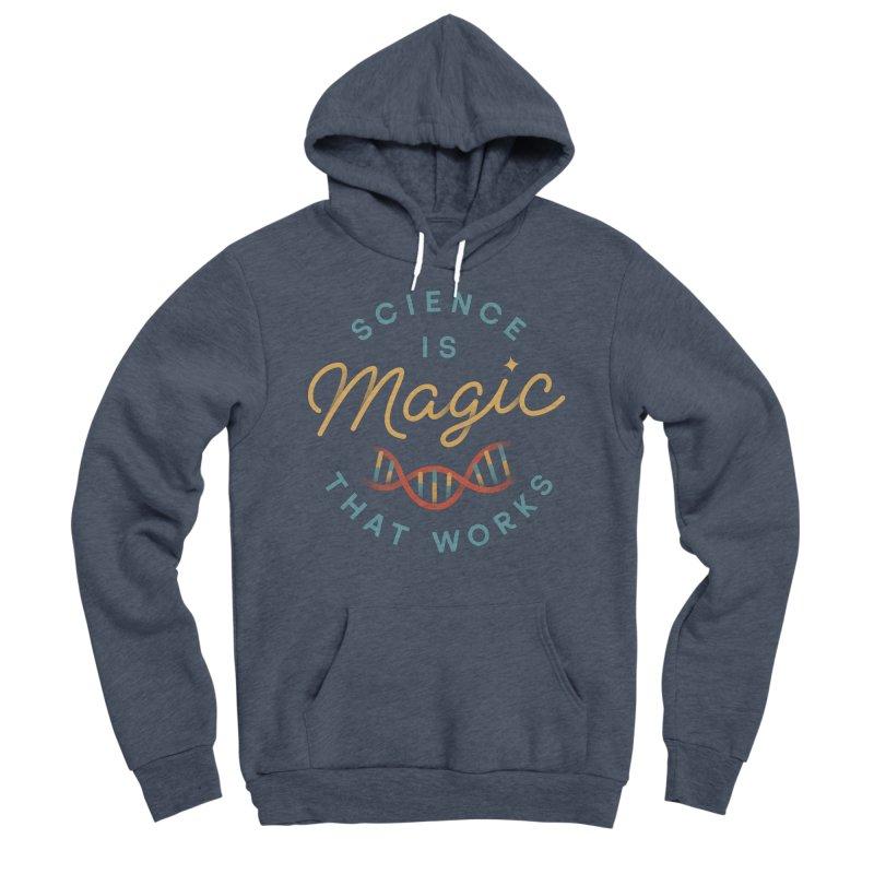 Science is Magic Men's Sponge Fleece Pullover Hoody by Cody Weiler