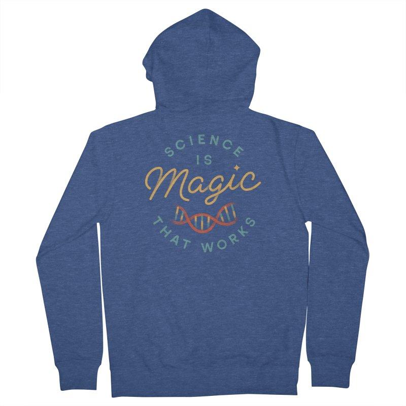 Science is Magic Men's Zip-Up Hoody by Cody Weiler
