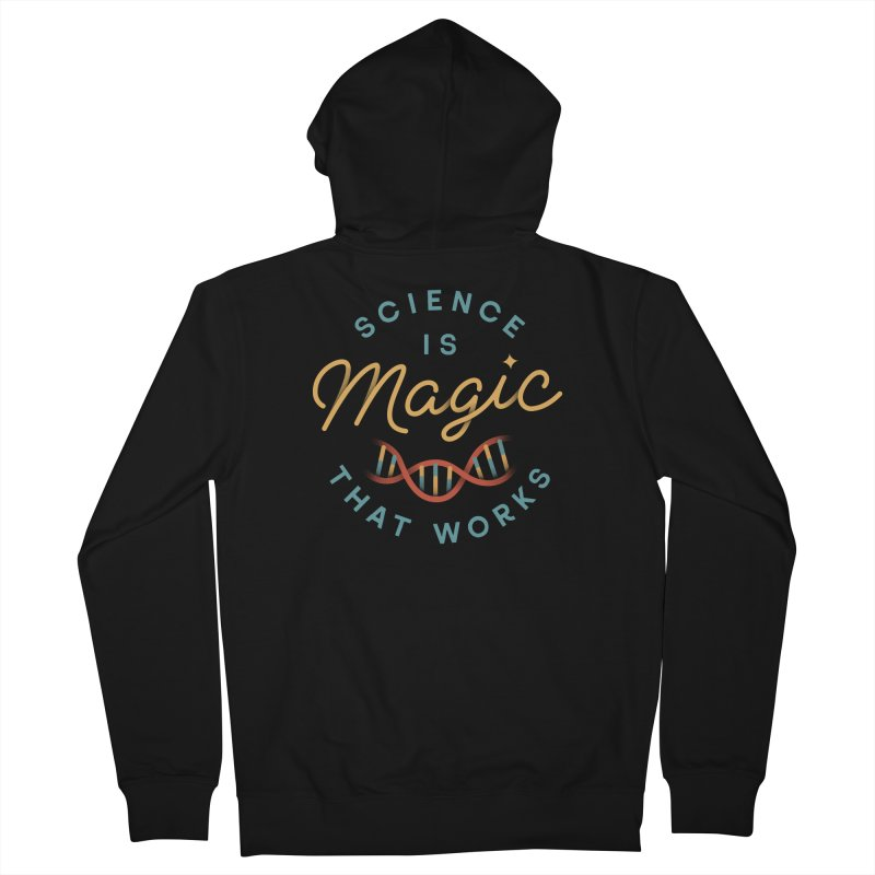 Science is Magic Men's French Terry Zip-Up Hoody by Cody Weiler