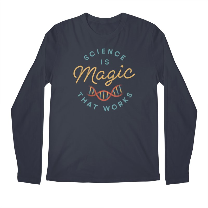 Science is Magic Men's Regular Longsleeve T-Shirt by Cody Weiler