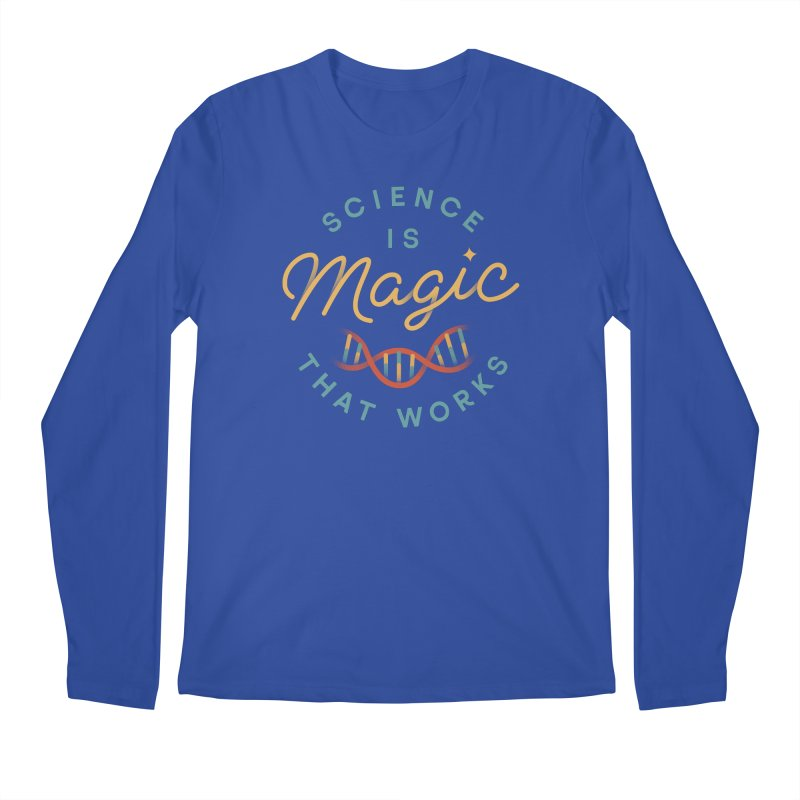 Science is Magic Men's Regular Longsleeve T-Shirt by Cody Weiler