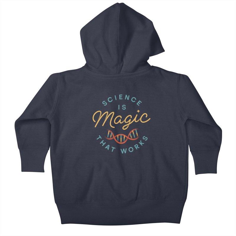 Science is Magic Kids Baby Zip-Up Hoody by Cody Weiler