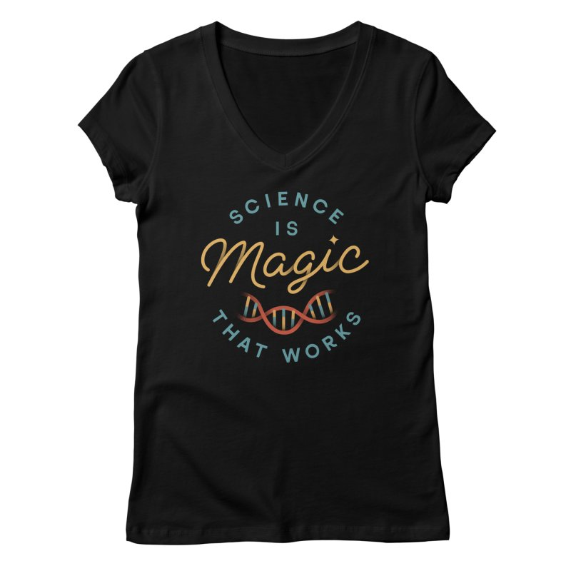 Science is Magic Women's V-Neck by Cody Weiler