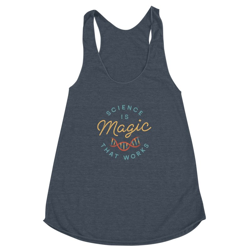Science is Magic Women's Racerback Triblend Tank by Cody Weiler