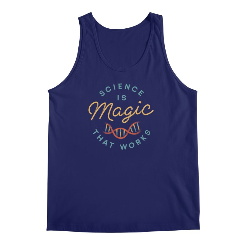 Science is Magic Men's Regular Tank by Cody Weiler