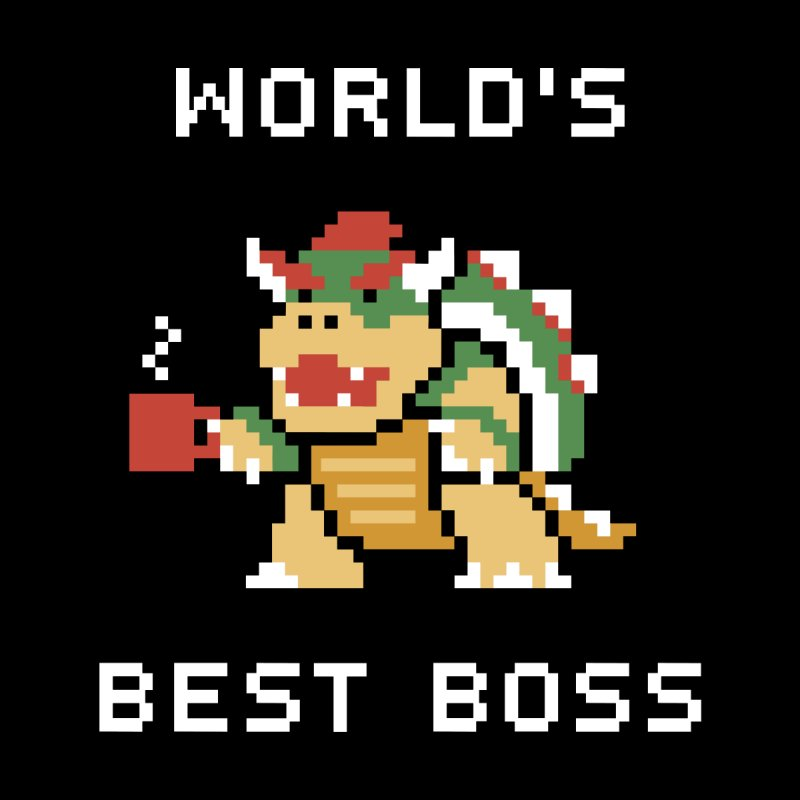 World's Best Boss Men's T-Shirt by Cody Weiler