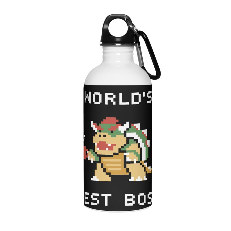 World's Best Boss Accessories Water Bottle by Cody Weiler