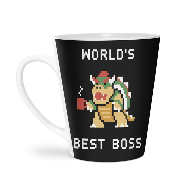 World's Best Boss Accessories Latte Mug by Cody Weiler