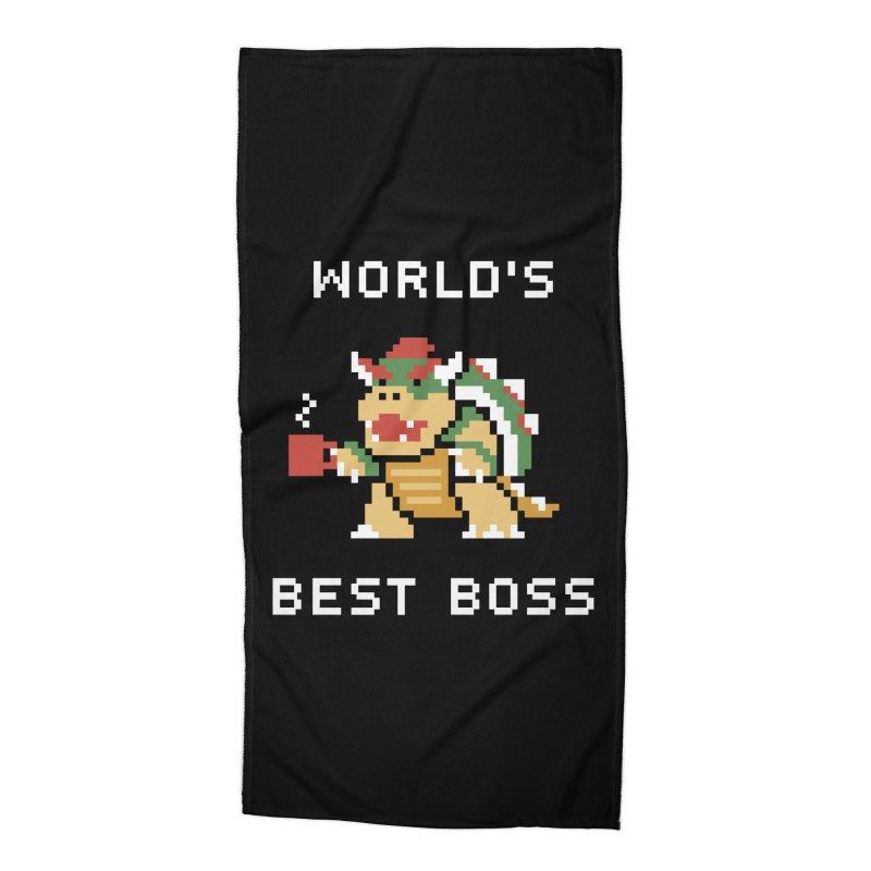 World's Best Boss Accessories Beach Towel by Cody Weiler