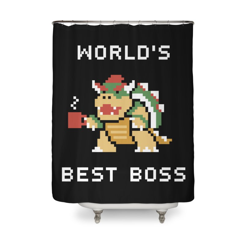 World's Best Boss Home Shower Curtain by Cody Weiler