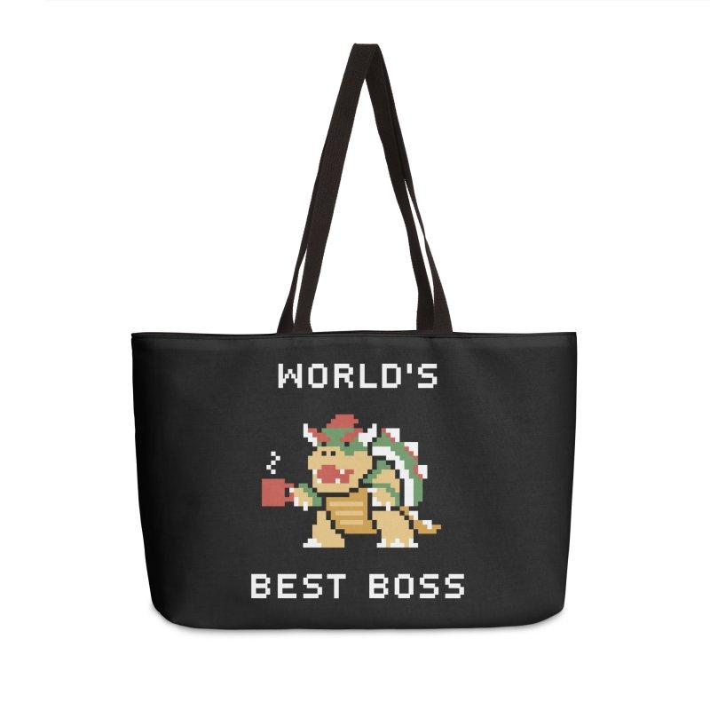 World's Best Boss Accessories Weekender Bag Bag by Cody Weiler