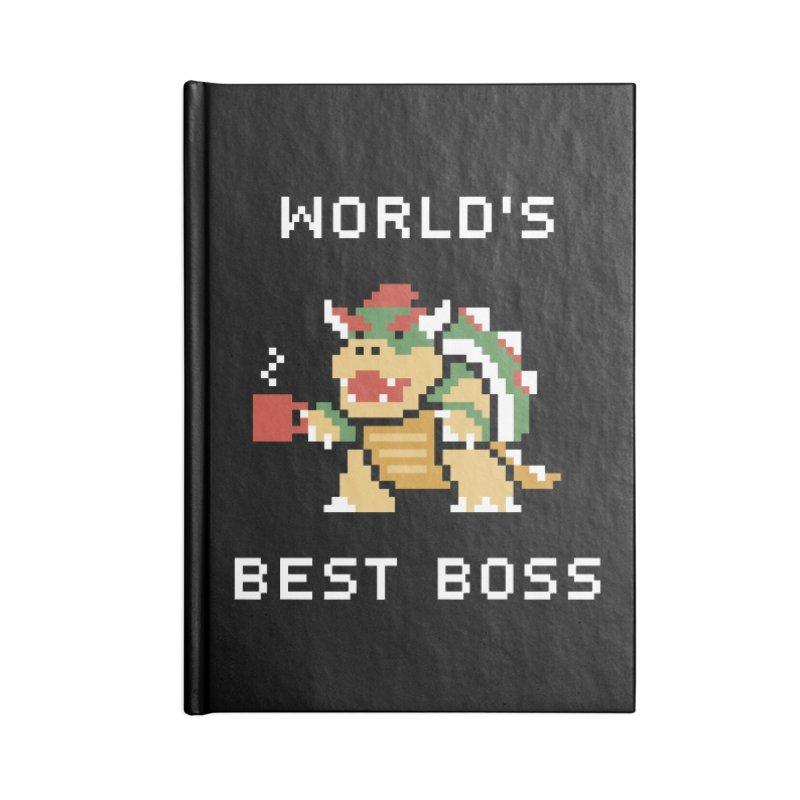 World's Best Boss Accessories Lined Journal Notebook by Cody Weiler