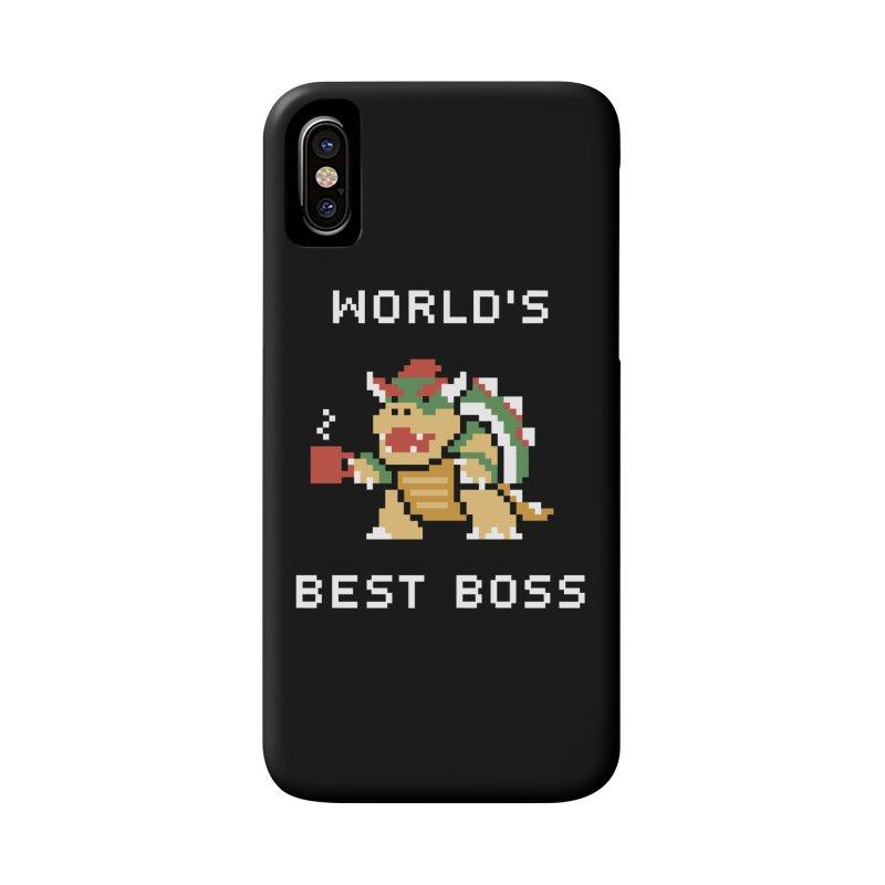 World's Best Boss Accessories Phone Case by Cody Weiler