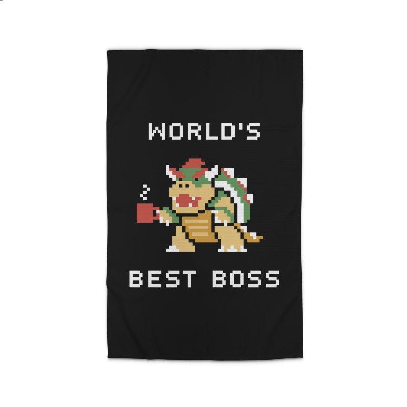 World's Best Boss Home Rug by Cody Weiler