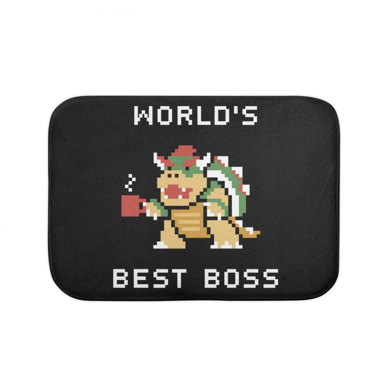 World's Best Boss Home Bath Mat by Cody Weiler