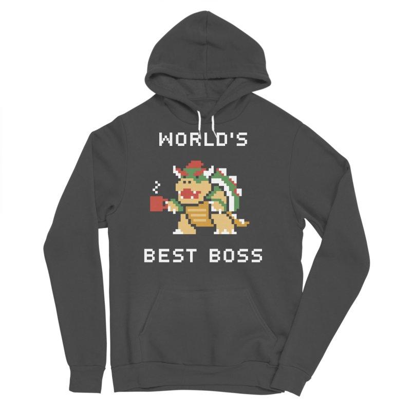 World's Best Boss Men's Sponge Fleece Pullover Hoody by Cody Weiler
