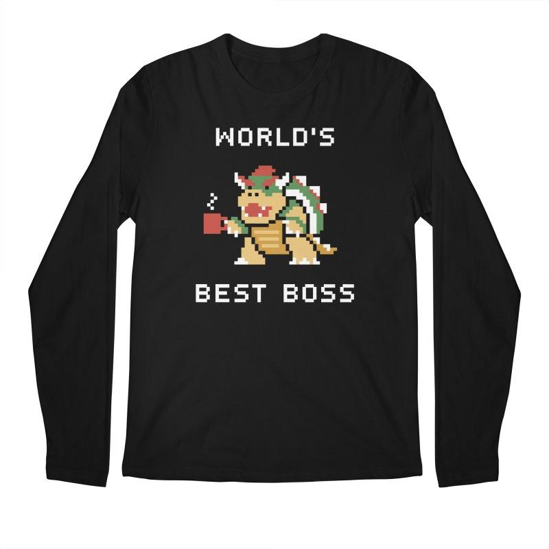 World's Best Boss Men's Longsleeve T-Shirt by Cody Weiler