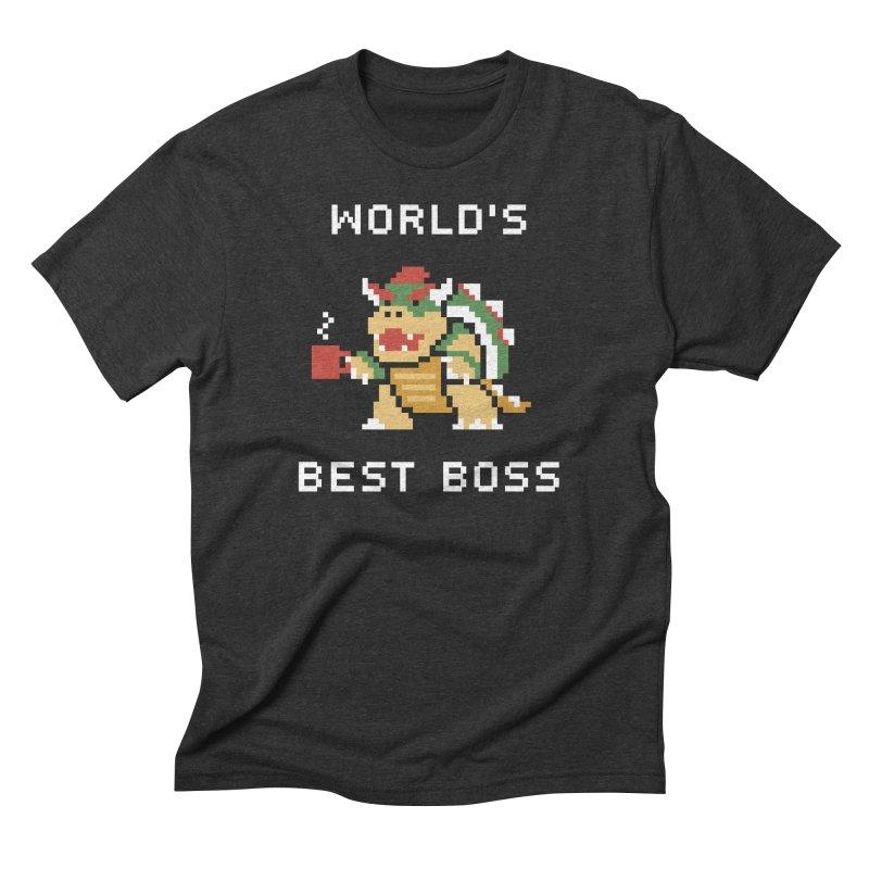 World's Best Boss Men's T-Shirt by Cody Weiler