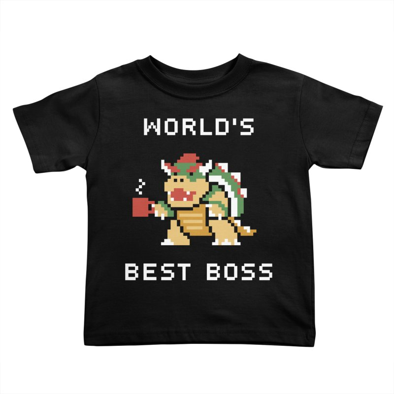 World's Best Boss Kids Toddler T-Shirt by Cody Weiler