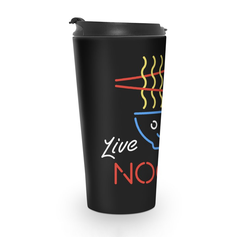 Live Noods Accessories Travel Mug by Cody Weiler