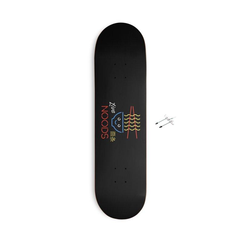 Live Noods Accessories Skateboard by Cody Weiler