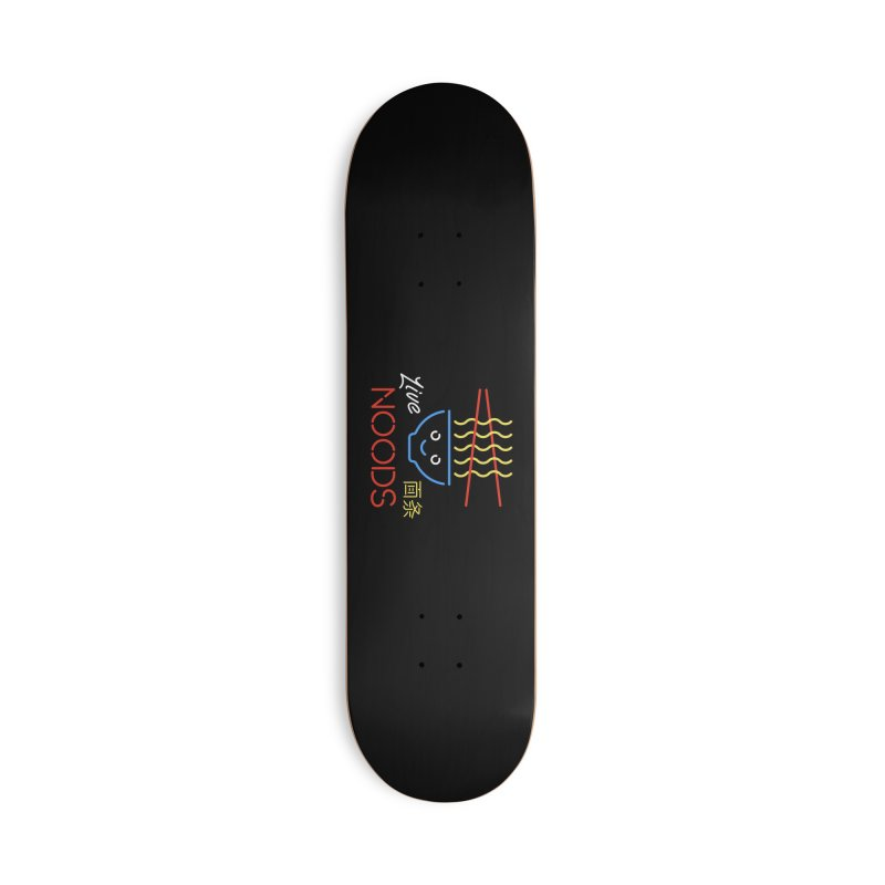 Live Noods Accessories Skateboard by Cody Weiler