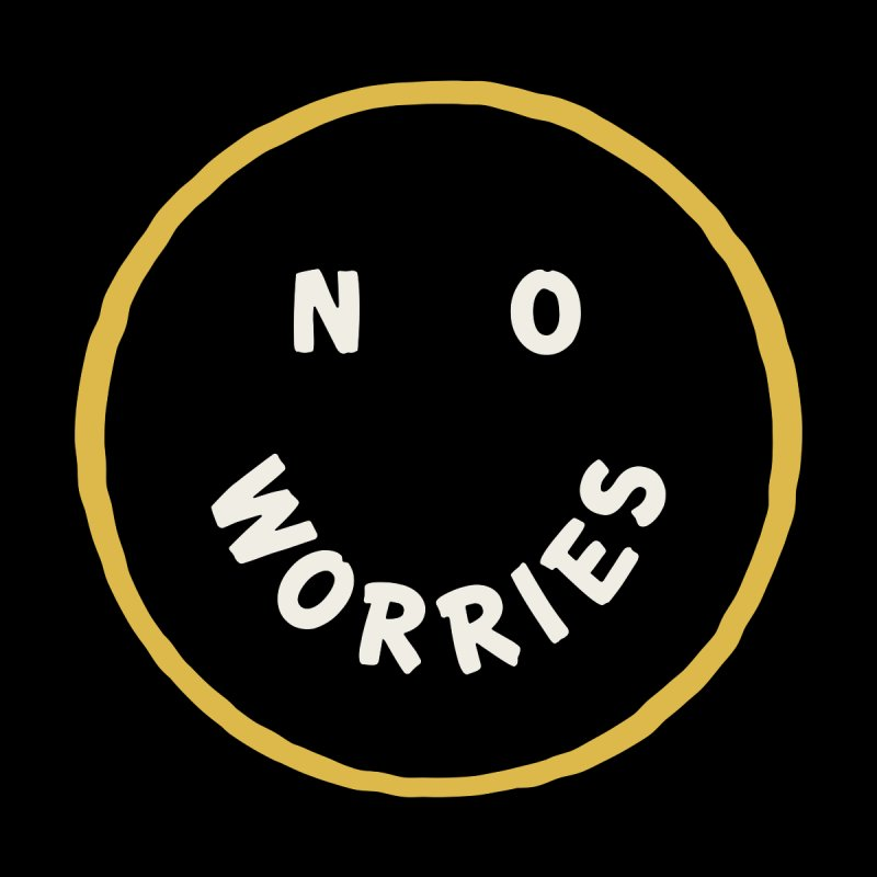 No Worries Home Rug by Cody Weiler