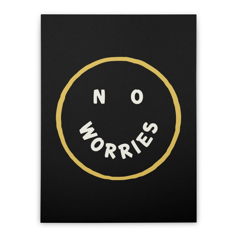 No Worries Home Stretched Canvas by Cody Weiler