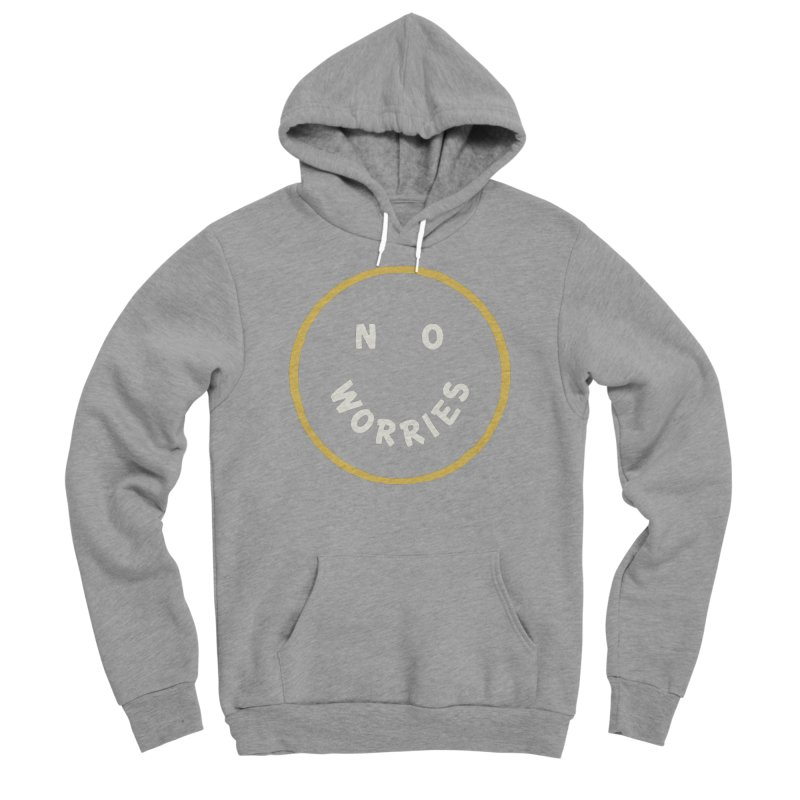 No Worries Men's Pullover Hoody by Cody Weiler
