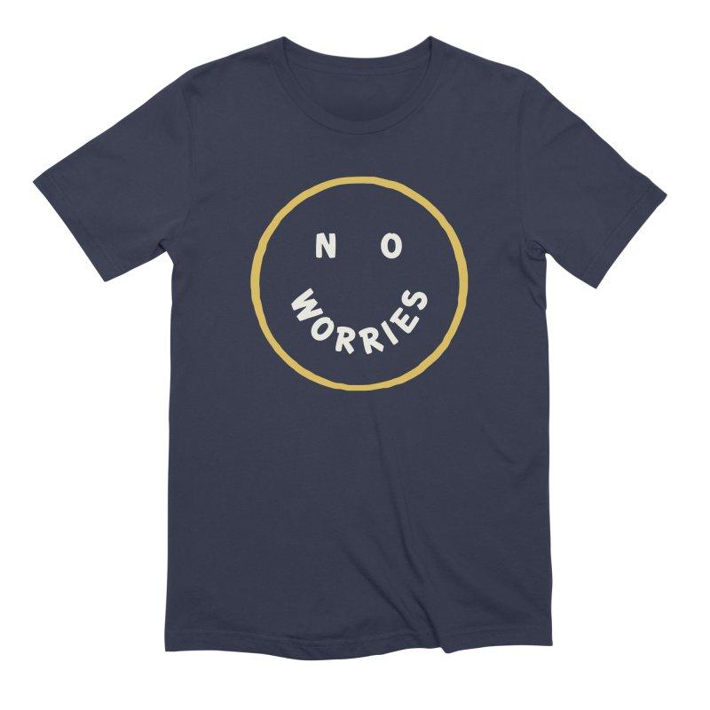 No Worries Men's Extra Soft T-Shirt by Cody Weiler