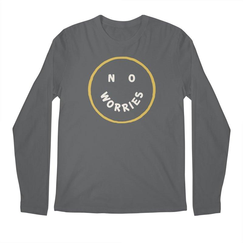 No Worries Men's Longsleeve T-Shirt by Cody Weiler